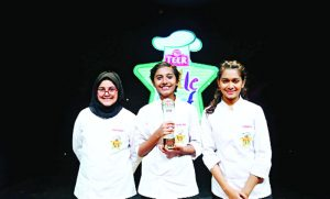 Rafia Binte Alam is the number one Little chef